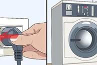 Tưởng thói quen rút phích cắm là thông minh, giờ tôi mới thực sự biết cách tiết kiệm điện khi dùng máy giặt