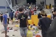 F0 xô đổ hàng rào, giành giật đồ ăn tại bệnh viện dã chiến: Lãnh đạo Bình Dương lên tiếng