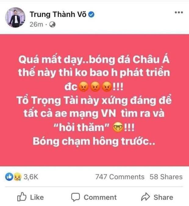 Tuyển tập loạt phát ngôn gây tranh cãi của MC Thành Trung: Từ phân biệt vùng miền, chửi tục đến cổ xuý netizen làm điều xấu-9