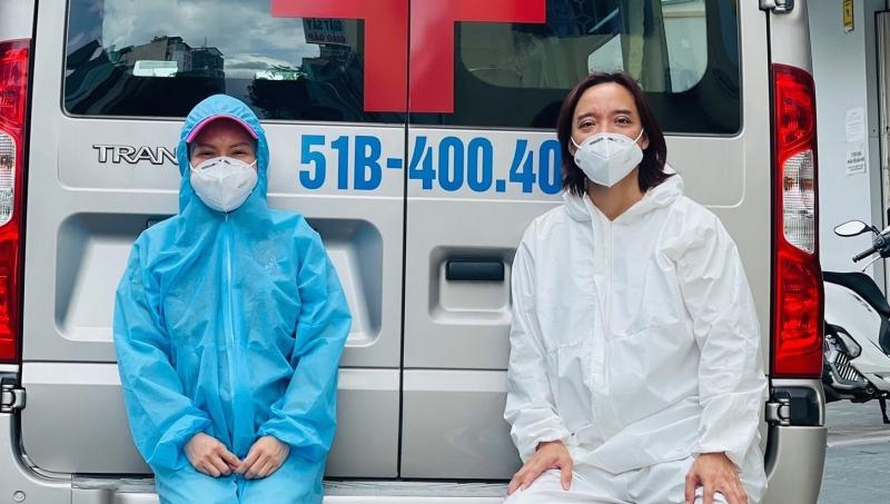 Xe tải chở đồ từ thiện của Việt Hương bị trộm bẻ khóa lấy hết giấy tờ, nữ danh hài khẩn thiết kêu gọi trả lại-2