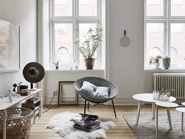 Căn hộ 1 phòng ngủ với thiết kế sàn mở tận dụng được tối đa không gian, đem lại cảm giác vừa rộng rãi vừa ấm áp và vô cùng tiện dụng-8