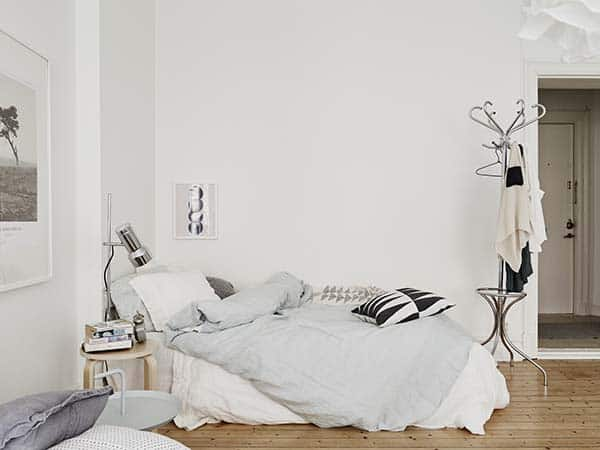 Căn hộ 1 phòng ngủ với thiết kế sàn mở tận dụng được tối đa không gian, đem lại cảm giác vừa rộng rãi vừa ấm áp và vô cùng tiện dụng-3