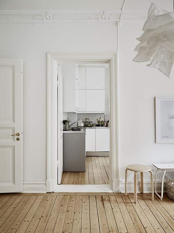 Căn hộ 1 phòng ngủ với thiết kế sàn mở tận dụng được tối đa không gian, đem lại cảm giác vừa rộng rãi vừa ấm áp và vô cùng tiện dụng-9