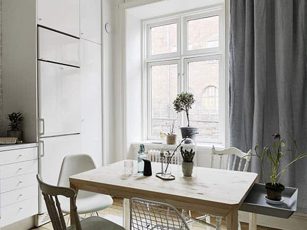 Căn hộ 1 phòng ngủ với thiết kế sàn mở tận dụng được tối đa không gian, đem lại cảm giác vừa rộng rãi vừa ấm áp và vô cùng tiện dụng-13