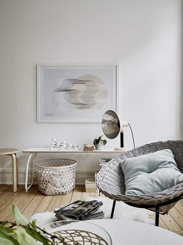 Căn hộ 1 phòng ngủ với thiết kế sàn mở tận dụng được tối đa không gian, đem lại cảm giác vừa rộng rãi vừa ấm áp và vô cùng tiện dụng-7