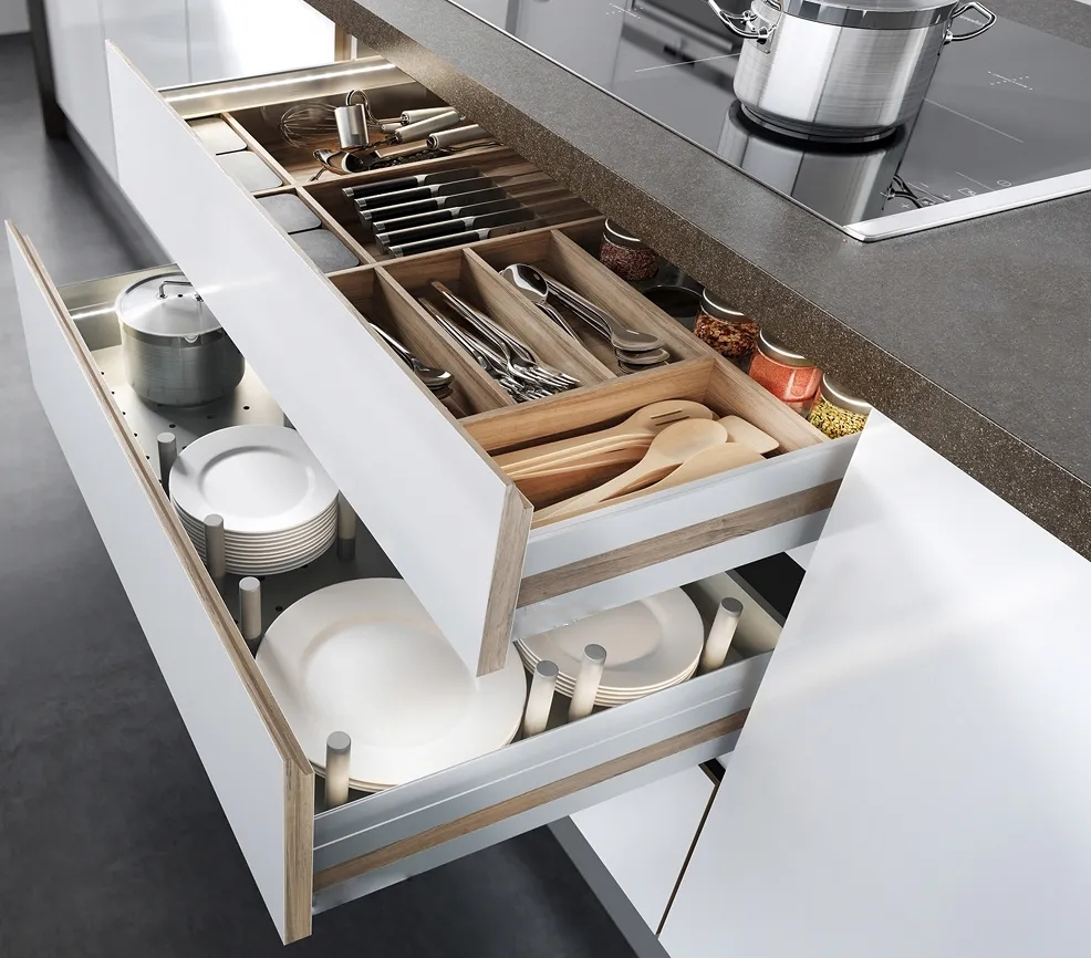Việc nội trợ sẽ trở nên dễ dàng hơn bao giờ hết nhờ những chi tiết trong thiết kế nhà bếp này-13