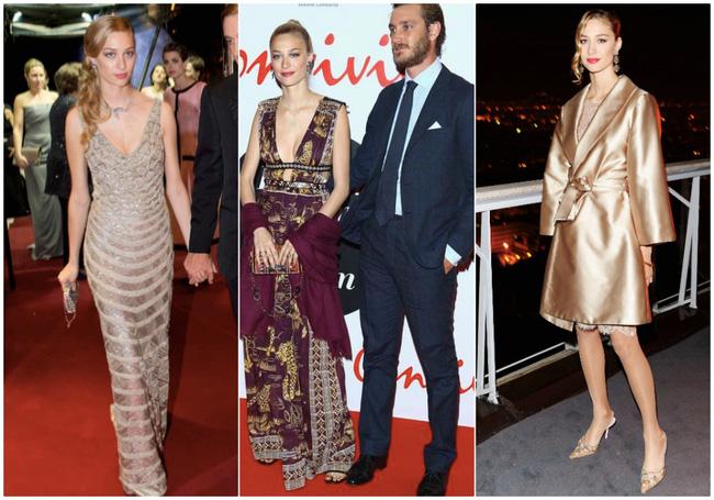 Công nương Monaco như thả rông tại đám cưới Hoàng gia: Diện bộ đầm ý nghĩa nhưng lại cắt khoét đúng chỗ hiểm-1