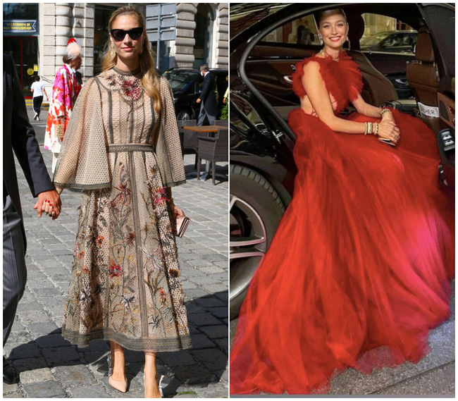 Công nương Monaco như thả rông tại đám cưới Hoàng gia: Diện bộ đầm ý nghĩa nhưng lại cắt khoét đúng chỗ hiểm-7