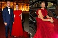 Công nương Monaco như 'thả rông' tại đám cưới Hoàng gia: Diện bộ đầm ý nghĩa nhưng lại cắt khoét đúng chỗ hiểm