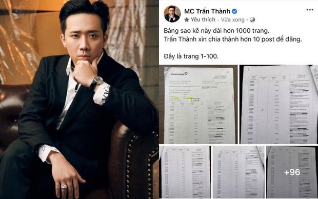 Sao kê cùng ngân hàng: Lý Hải - Minh Hà được dân tình khen rõ ràng, Trấn Thành vẫn còn điểm nghi vấn-1