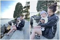 An Nguy khoe nhan sắc ít son phấn sau 6 tháng sinh con, tiết lộ lần đầu làm điều này cùng ái nữ!