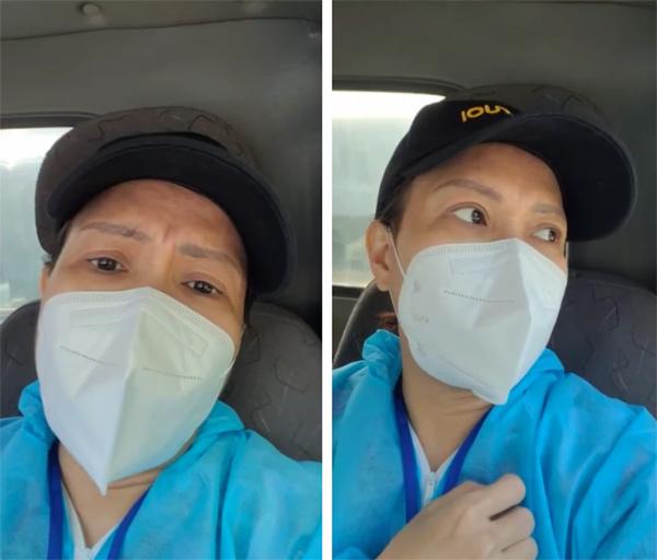 Việt Hương xin lỗi vì lỡ phát gạo mốc cho bà con khó khăn-1
