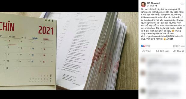 MC Phan Anh tung 6,5kg sao kê 24 tỷ kêu gọi cứu trợ miền Trung năm 2016, chấp nhận bị kiện nếu phát hiện dấu hiệu ăn chặn!-3
