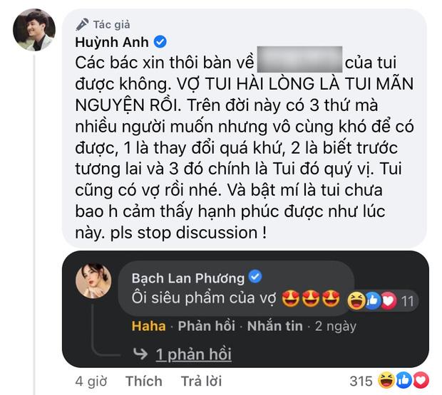 Huỳnh Anh phát ngôn kém duyên liên quan đến người yêu cũ Hoàng Oanh, lời giải thích liệu có hợp lý?-4