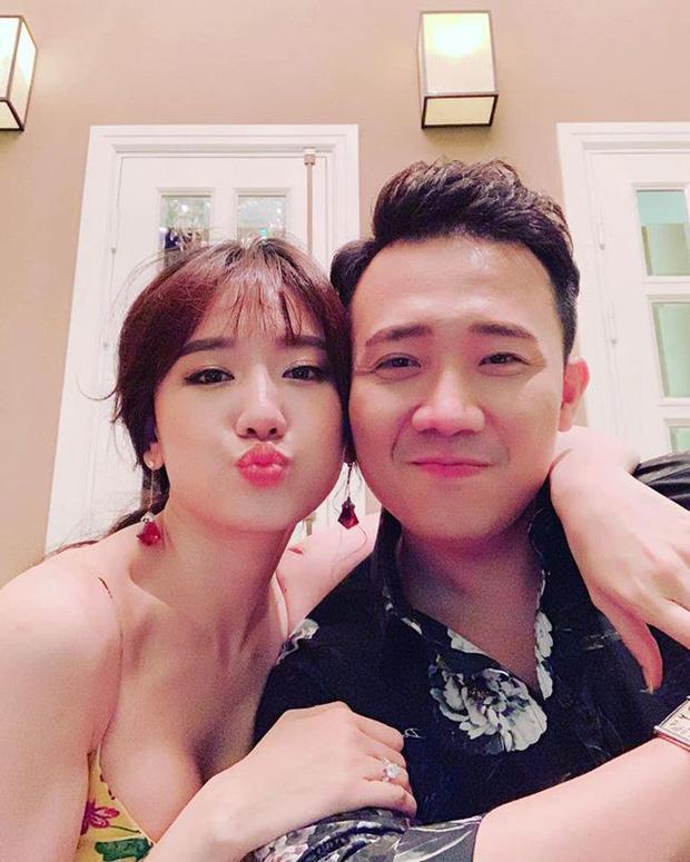 Không vòng vo, Hari Won chỉ nói 3 chữ cho thấy thái độ với Trấn Thành sau nhiều ngày vượt bão sao kê-4