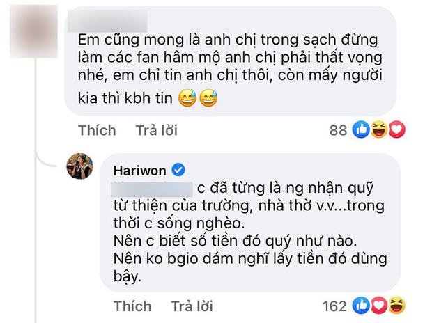 Không vòng vo, Hari Won chỉ nói 3 chữ cho thấy thái độ với Trấn Thành sau nhiều ngày vượt bão sao kê-3