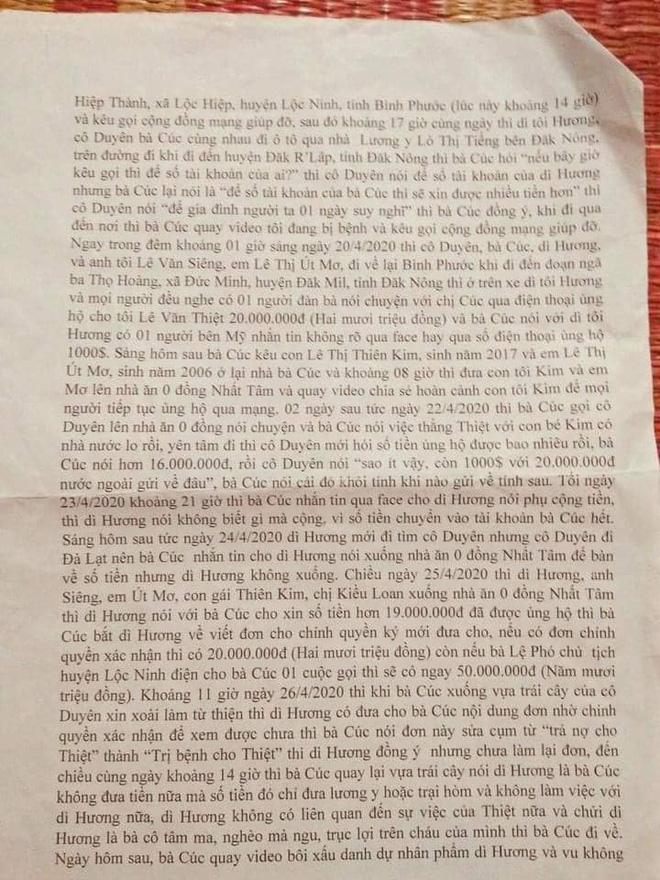 Người nhà nạn nhân tố trưởng nhóm Mai táng 0 đồng Giang Kim Cúc ăn chặn tiền từ thiện: Bị sốc trước những lời chửi rủa đến mức muốn tự tử-8