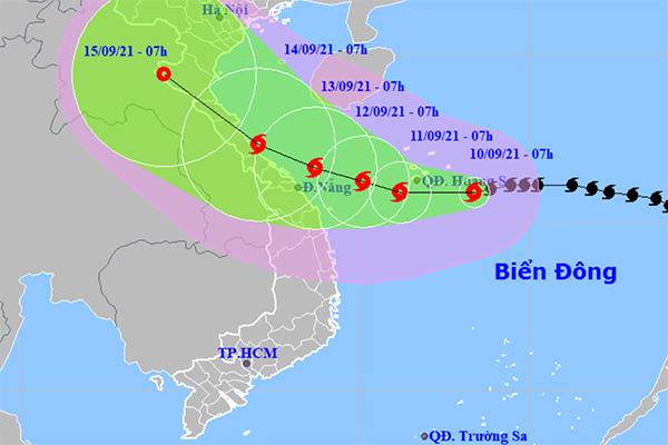 Bão số 5 hướng vào Thanh Hóa - Quảng Ngãi, test nhanh Covid-19 nếu sơ tán dân-1