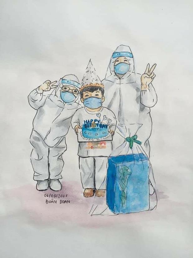Ám ảnh câu nói trong hơi thở ngắt quãng của nữ bệnh nhân Covid-19 trước khi qua đời: Bác sĩ ơi, cố cứu em, em còn 4 đứa con-1
