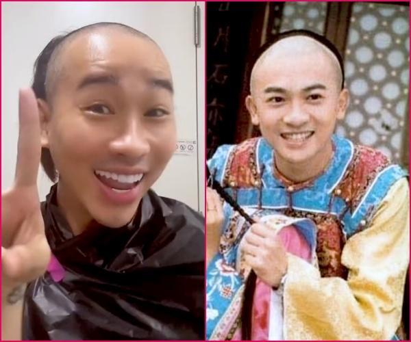 2 màn tự cắt tóc fail nhất mùa dịch: Hải Triều như Ngũ A Ca, Thùy Anh ruộng bậc thang-2