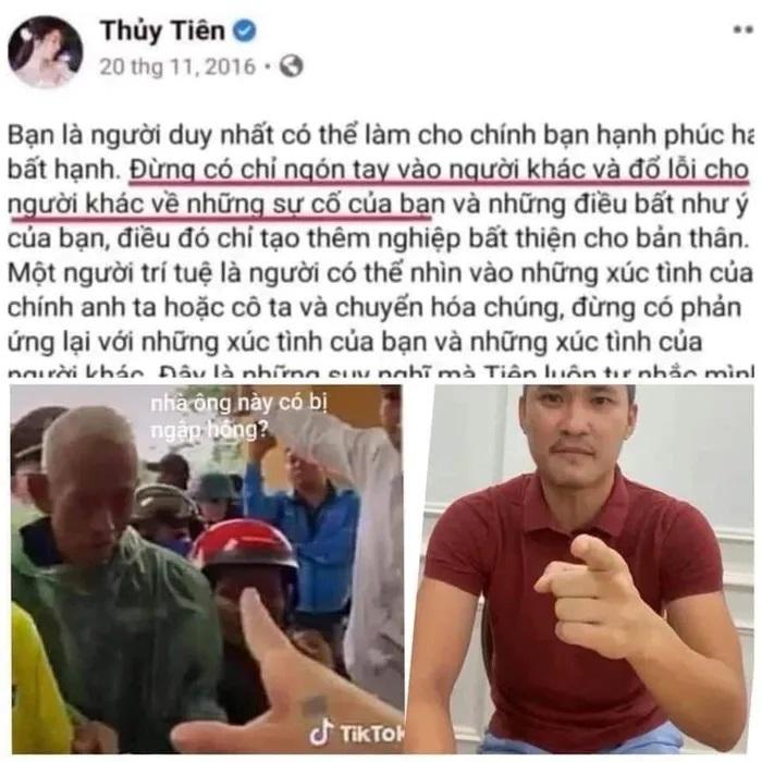 Thủy Tiên bị netizen mỉa mai vì phát ngôn Đừng chỉ tay vào người khác trong quá khứ-1