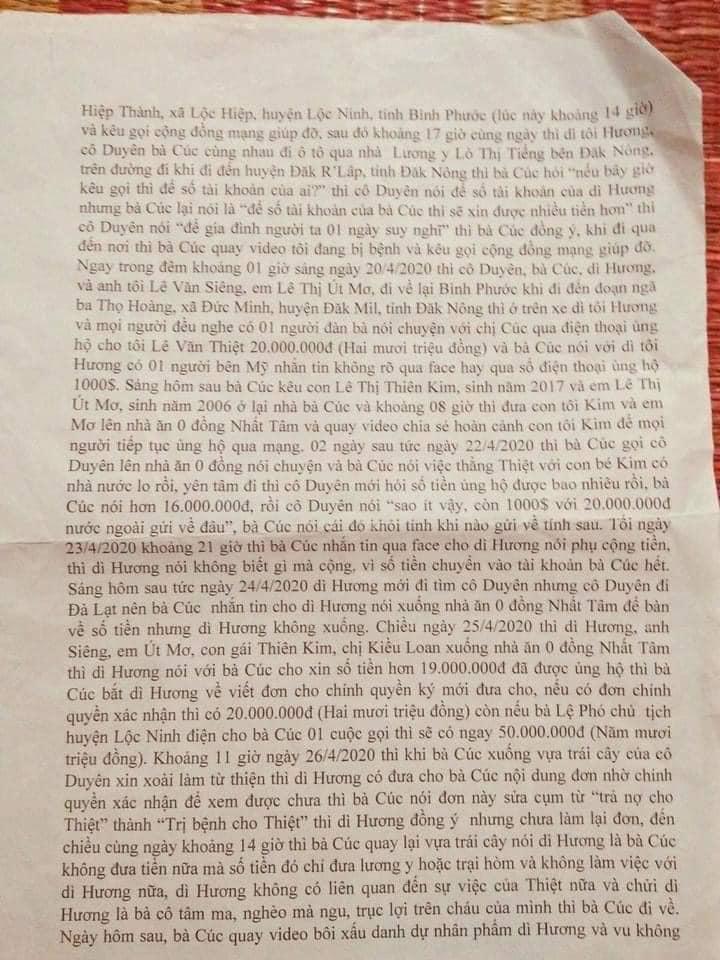 Luật sư đặt nghi vấn về khuất tất quyên góp từ thiện của Giang Kim Cúc lên tiếng: Tôi đã chuẩn bị đầy đủ đơn từ, tài liệu phục việc tố cáo-8