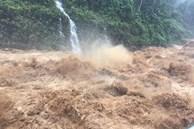 Bão Côn Sơn gây mưa to diện rộng, đã có người chết do lũ cuốn trôi