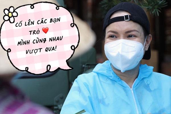 Việt Hương tuyên bố ngưng từ thiện phát quà từ 15/9-1