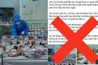 Giám đốc BV Hùng Vương: 'Lấy ảnh các bé lúc đang chiếu đèn tắm rồi suy diễn thiếu tã sữa để kêu gọi từ thiện'
