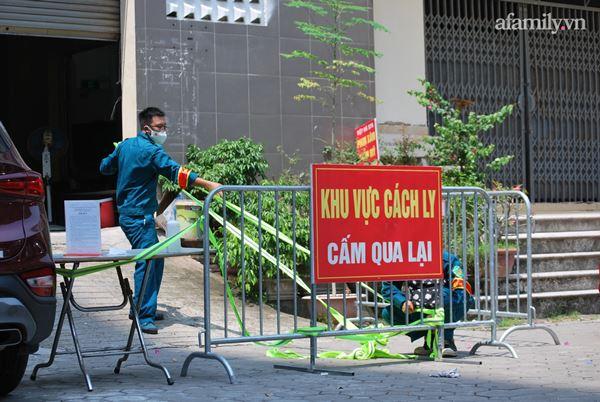 Hà Nội: Tạm thời phong tỏa tòa nhà hơn 350 nhân khẩu sau khi một cư dân bán hàng ở sảnh dương tính SARS-CoV-2-1