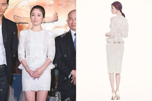 Lần hiếm hoi Song Hye Kyo khoe 3 vòng bốc lửa ngùn ngụt, chẳng ngại cắt váy sexy lấn át cả mẫu hãng-11