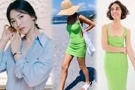 Lần hiếm hoi Song Hye Kyo khoe 3 vòng bốc lửa ngùn ngụt, chẳng ngại cắt váy sexy lấn át cả mẫu hãng