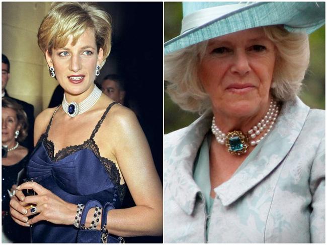 Tiểu tam Hoàng gia Anh copy loạt trang sức của chính thất: Đỉnh điểm là pha diện lại đồ của Công nương Diana gây bão tố dư luận-1
