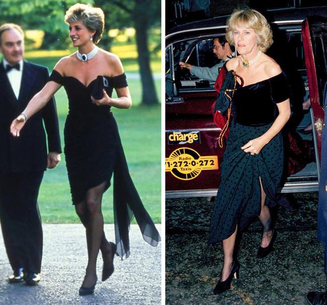 Tiểu tam Hoàng gia Anh copy loạt trang sức của chính thất: Đỉnh điểm là pha diện lại đồ của Công nương Diana gây bão tố dư luận-2