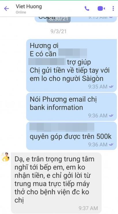 Người trong cuộc chính thức lên tiếng nói rõ thông tin Việt Hương bí mật nhận tiền quyên góp từ thiện-3