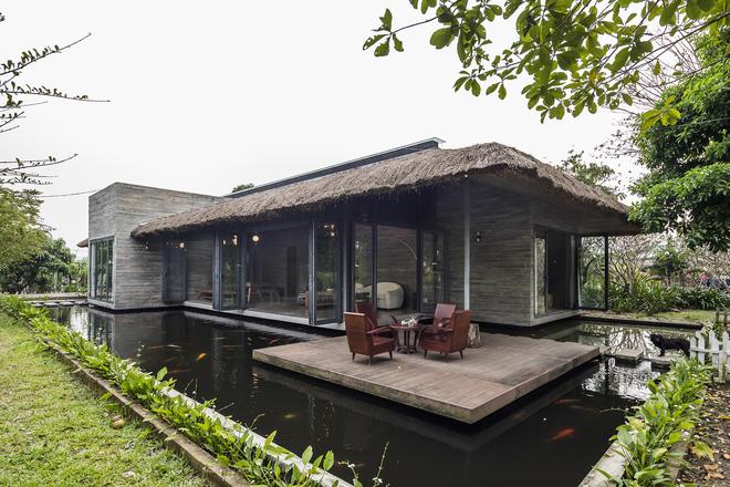 Giám đốc marketing về miền Tây xây biệt thự nhà vườn hệt như một ốc đảo riêng tư, có cả hồ cá Koi ngắm mà ghen tị-3