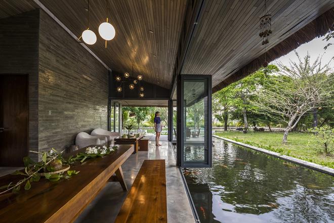 Giám đốc marketing về miền Tây xây biệt thự nhà vườn hệt như một ốc đảo riêng tư, có cả hồ cá Koi ngắm mà ghen tị-14