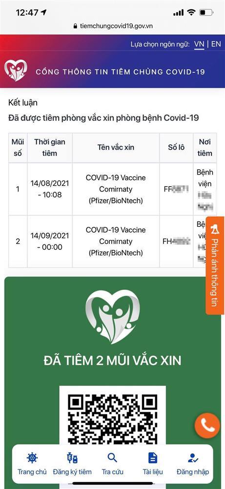 Người dân có thể tra cứu thông tin tiêm chủng vắc xin phòng COVID-19 của mình tại đâu?-8