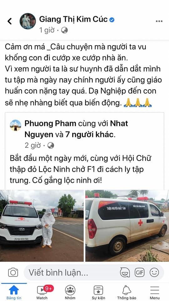 Trưởng nhóm Nhất Tâm tấn công Giang Kim Cúc vụ xe cứu thương: Thay đổi kết cấu xe, lột bỏ chữ, không cướp thì là gì?-9