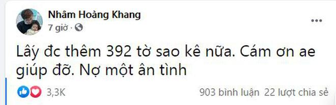 Cậu IT Nhâm Hoàng Khang bất ngờ lên tiếng về việc tung sao kê quỹ từ thiện: Quỹ này trong kịch bản của một bộ phim-3