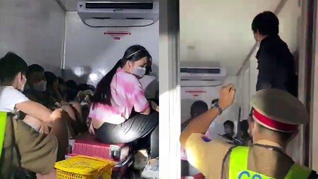 Vụ 15 người trong thùng xe đông lạnh thông chốt về quê: Dù thương nhưng vẫn phải xử lý nghiêm-2
