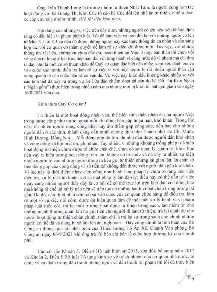 Nhiều người từng là bạn bè, cộng sự gửi đơn tố cáo Giang Kim Cúc chỉ trong thời gian ngắn-2