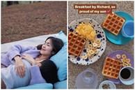Tăng Thanh Hà khoe bữa sáng do con trai tự làm, thông minh còn chăm chỉ thế này bảo sao ai cũng yêu!