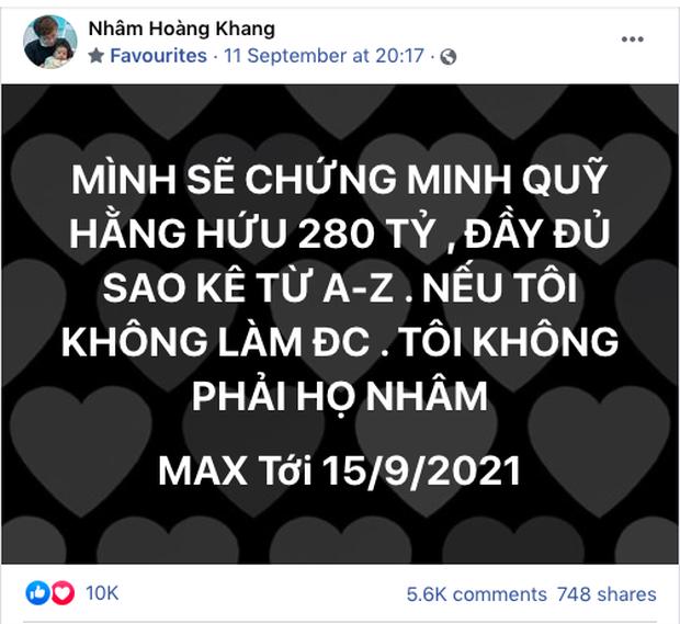 Lật tẩy hàng loạt chiêu trò mà cậu IT Nhâm Hoàng Khang sử dụng để lách luật trước giờ công khai sao kê-1