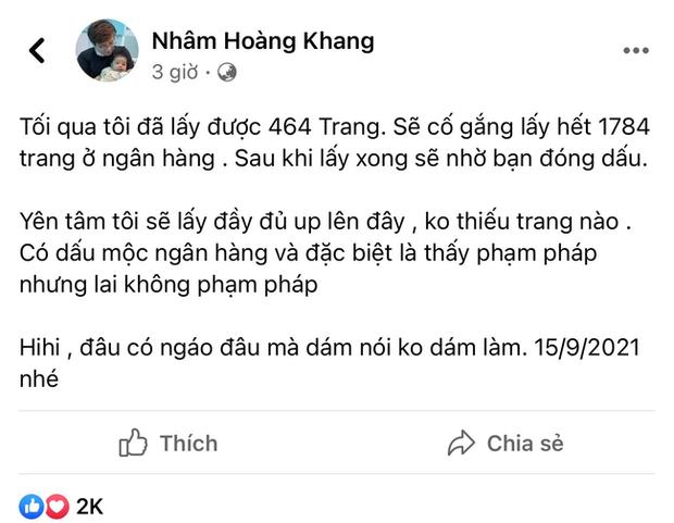 Lật tẩy hàng loạt chiêu trò mà cậu IT Nhâm Hoàng Khang sử dụng để lách luật trước giờ công khai sao kê-2