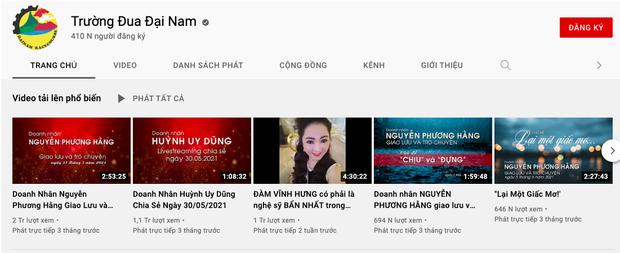 """Sau khi bà Phương Hằng tuyên bố dừng lại"""", loạt kênh YouTube hàng chục nghìn lượt theo dõi của Đại Nam đã bốc hơi-4"""