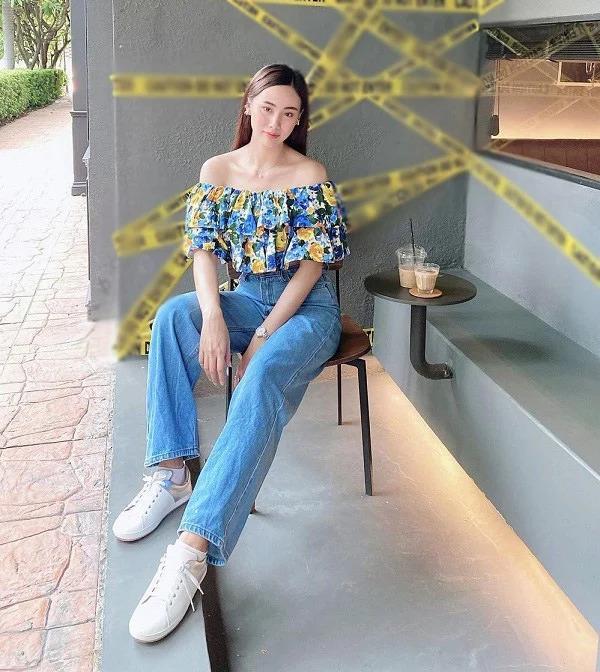 Mỹ nhân Thái Lan phối váy áo hoa đón thu không lo sến súa-11