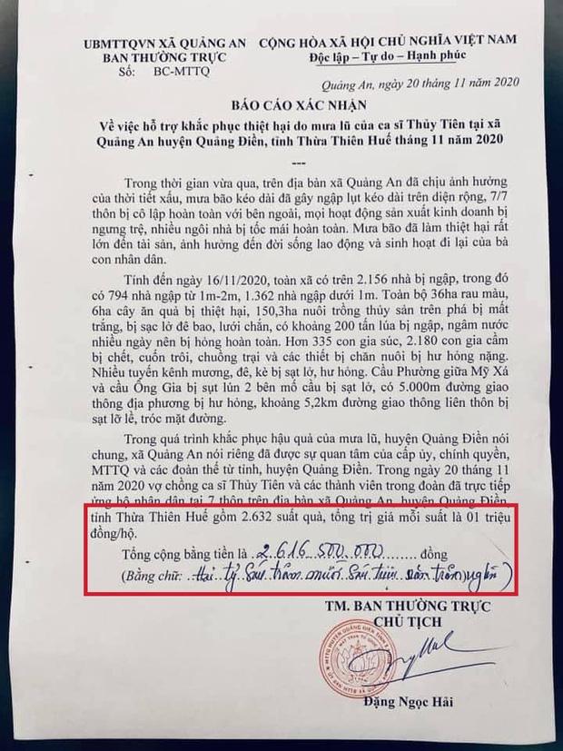 Netizen soi bằng được lỗi trong giấy tờ của Công Vinh và Thuỷ Tiên: Không rõ ngày tháng, số tiền bằng số và chữ khác nhau?-1