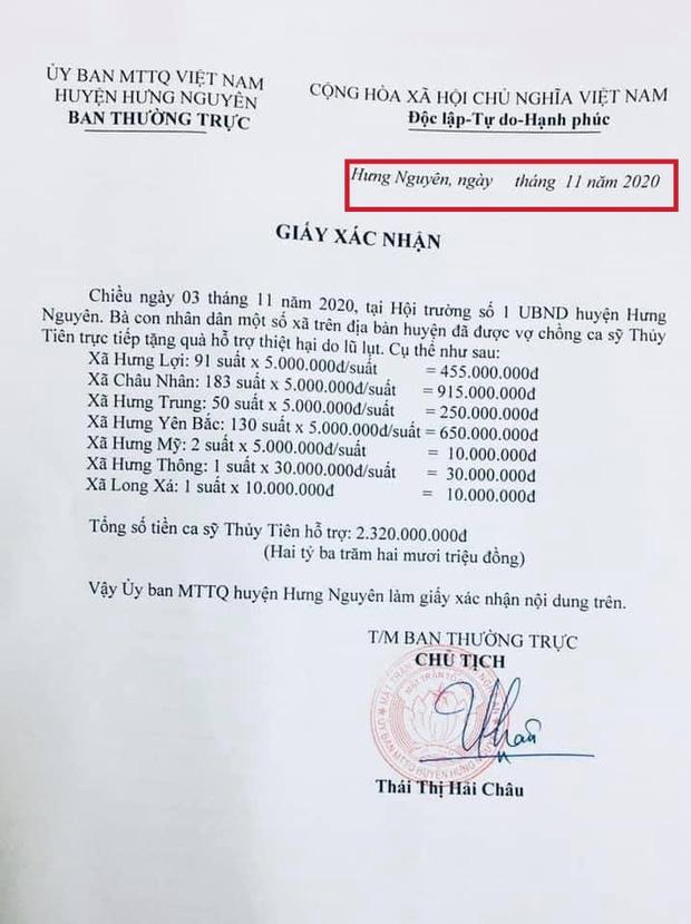 Netizen soi bằng được lỗi trong giấy tờ của Công Vinh và Thuỷ Tiên: Không rõ ngày tháng, số tiền bằng số và chữ khác nhau?-4