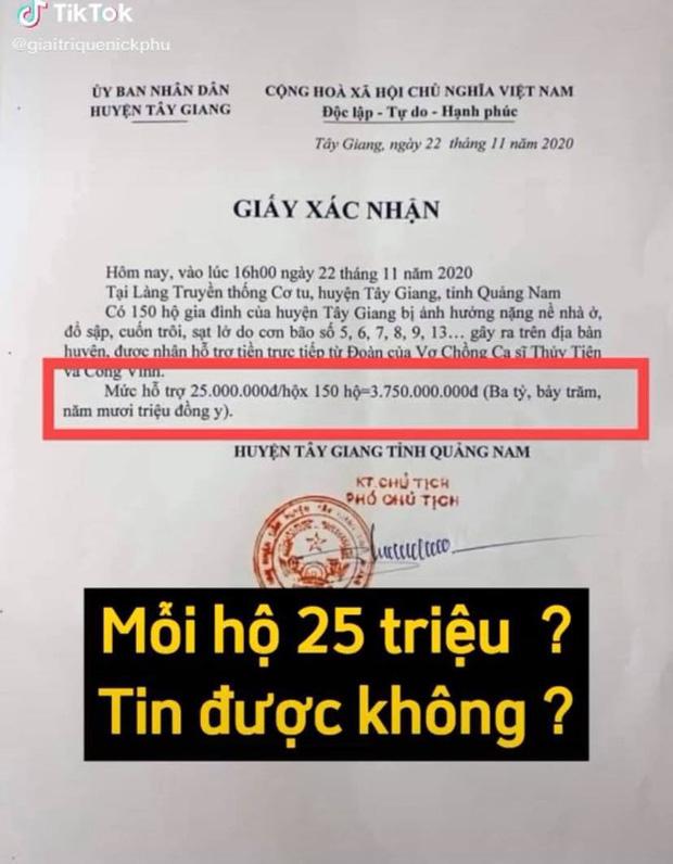 Netizen soi bằng được lỗi trong giấy tờ của Công Vinh và Thuỷ Tiên: Không rõ ngày tháng, số tiền bằng số và chữ khác nhau?-6